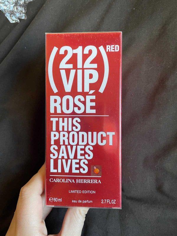 Carolina Herrera 212 Vip Rose Red 80ml
