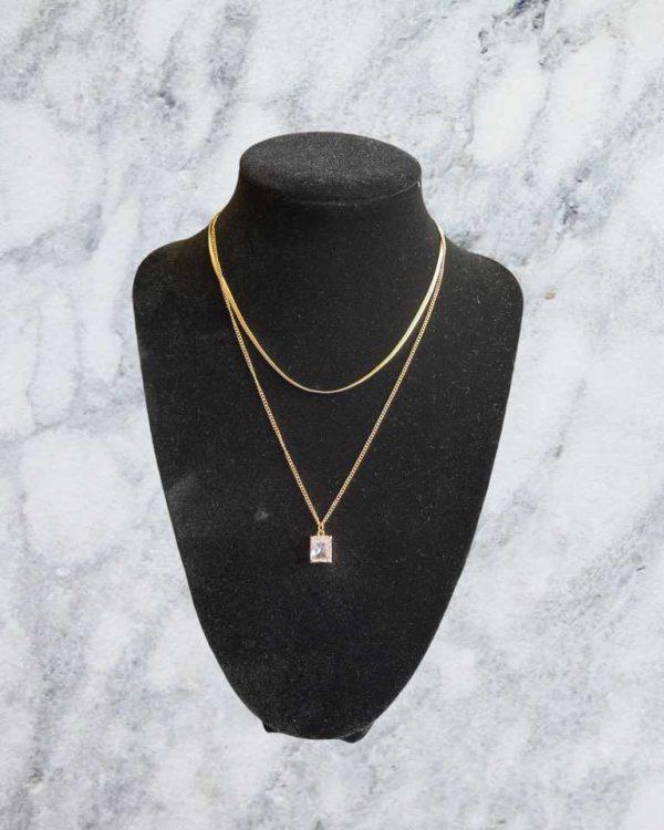 1 piece Rhinestone Necklace