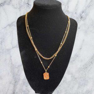 1 Piece Gold Necklace